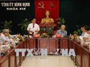 陈国旺: 平定省应注重社会保障和新农村建设工作