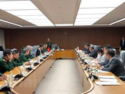 越南与日本举行第六次国防政策对话会