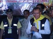 泰国清莱府府尹:4名被困泰国少年足球队员获救