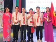 越南学生在国际数学竞赛获5枚金牌
