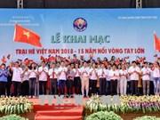 2018年越南夏令营继续在富寿省举行