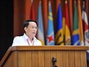 越通社社长阮德利在圣保罗论坛上发表重要讲话