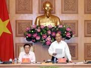 越南政府总理阮春福出席国家货币与财政政策咨询委员会会议