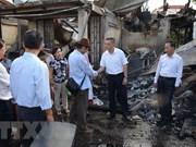 外交部发言人:继续采取措施帮助火灾受灾的越裔柬埔寨人稳定生活