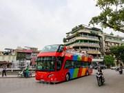 河内双层观光巴士推出新票种