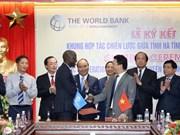 河静省与世行签署战略合作框架