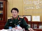 越南人民军高级政治干部代表团对中国进行友好访问