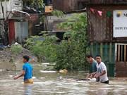 多国受暴雨台风袭击 中国多地交通阻断 菲律宾5人死亡