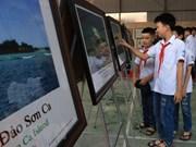 """""""黄沙与长沙归属越南—— 历史依据和法律证据""""的地图和资料展在北件省举行"""