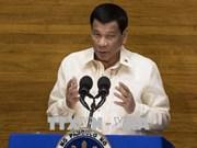 菲律宾总统杜特尔特发表任内第三份国情咨文