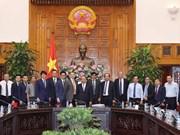 越南政府总理阮春福会见有意对薄辽省投资的客商