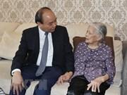 阮春福总理走访慰问基层烈士家属