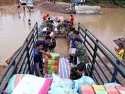 越南政府为老挝大坝坍塌灾区提供20万美元紧急援助