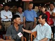 越南继续向老挝一水电站大坝坍塌受灾群众提供援助