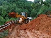 """台风""""山神""""给越南道路系统造成经济损失约1227万美元"""