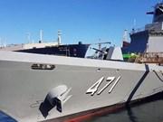 韩国为泰国建造护卫舰即将交付