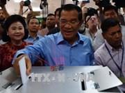 柬埔寨第六届国会选举开始投票