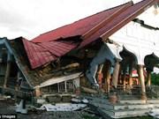 印度尼西亚地震:至少50人伤亡