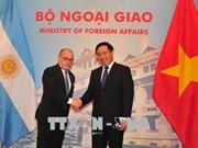 阿根廷外交和宗教事务部长对越南进行正式访问