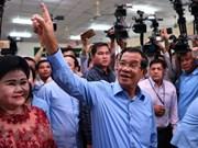 柬埔寨第六届国会选举:柬埔寨人民党赢得114个国会席位
