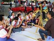 2018年越老柬少儿夏令营在胡志明市开营