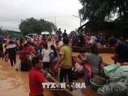 老挝水电站大坝坍塌事故: 东盟愿加强团结 协助老挝开展灾后重建