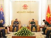 越南与新西兰加强防务合作关系
