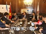 促进越南胡志明市与阿根廷布宜诺斯艾利斯市之间的友好关系