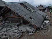 印尼7级地震:至少82人死亡 数百人受伤