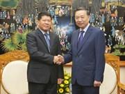 越泰两国加强政治安全合作