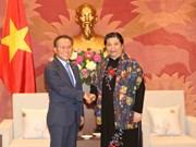 越韩两国国会提升合作层次 促进经验交流