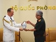 促进越南与法国防务合作走向深入和务实