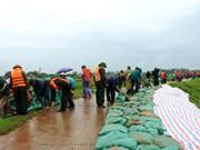 越南水利科学研究院与越南水利科学院签署有关预防自然灾害的合作协议