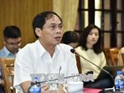 越南副外长裴青山:各地方须集中精力加快融入国际社会步伐