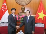 促进越南与新加坡关系发展