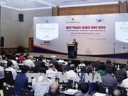 越南将完善并促进高等教育标准化以及加快与国际接轨的步伐