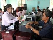坚江省政策性银行为高棉族同胞脱贫济困助力