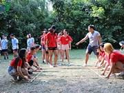 泛欧越南青年大学生夏令营有助于增强旅欧越南青年大学生的团结友谊