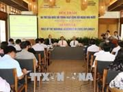 """""""议会外交在公共外交中的作用""""研讨会在芹苴市举行"""