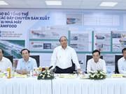 越南政府总理阮春福参观西宁省部分高科技农业模式