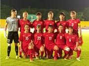 ASIAD 2018亚运女足四分之一决赛越南队将与中国台湾队一争高下