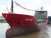 白藤造船工业总公司向意大利客户转交专运乙烯船