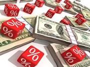 美元定期存款利率有所上升