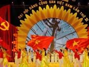 德国媒体高度评价越南党十一大的成功