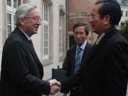 越南与卢森堡加强发展合作