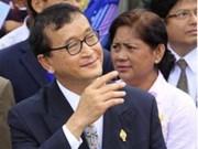柬埔寨国会罢免 Sam Rainsy 党主席的议员资格