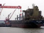 越南下龙造船公司转交53000吨级货船