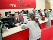 越南保诚投资信贷保险公司占越南保险收入总额的41.4%份额