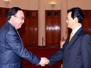 阮晋勇总理会见哈萨克斯坦外交部副部长
