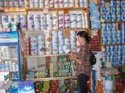越南未发现含有三聚氰胺和亚硝酸盐的牛奶